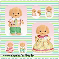 SF Toy Poodle Family Set (SFHK Set)