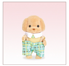 SF Toy Poodle Baby Figure